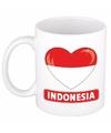 Hartje Indonesie mok / beker 300 ml